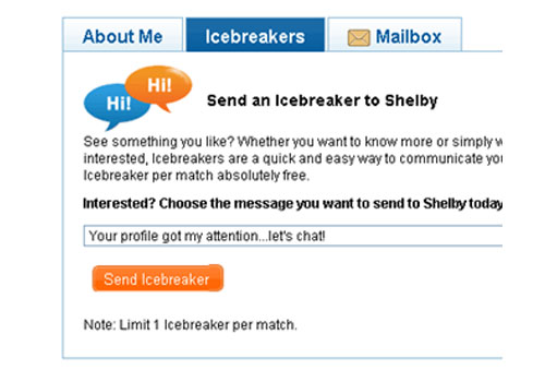 Icebreakers for online dating