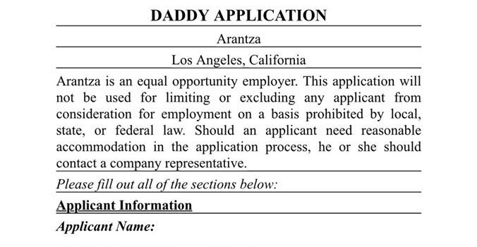bf application